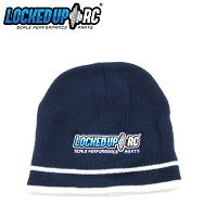 LURC Embroidered Beanie - Navy/White