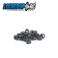 M3 Nylock Nut Black (20)