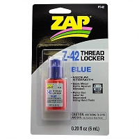 Zap Z-42 Blue Thread Locker (Medium) 0.20oz