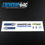 Locked UP RC Scale Decal Pack #1