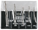 10pc Metric Tap & Drill Set - M2 to M5
