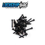 M2 x 14 socket head screws  (28) black