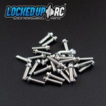 M2 x 7mm Scale Hex Bolts (30) SS