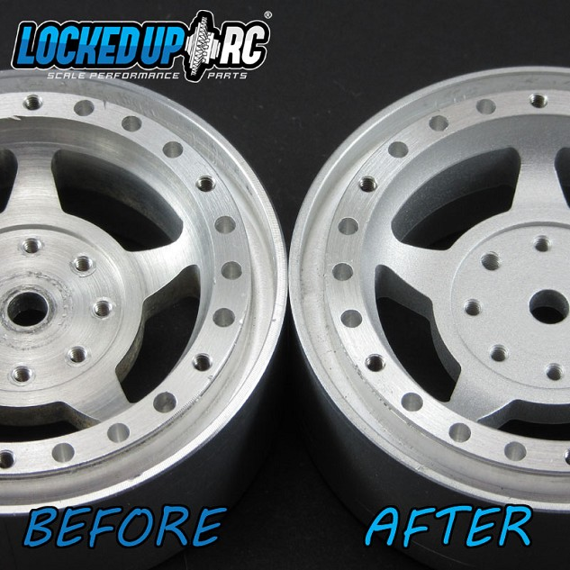"1.9"" Wheel Refinishing - Cinder"