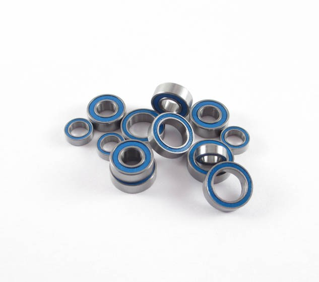 SCX10 II Front Axle Bearing Kit: LURC Rubber