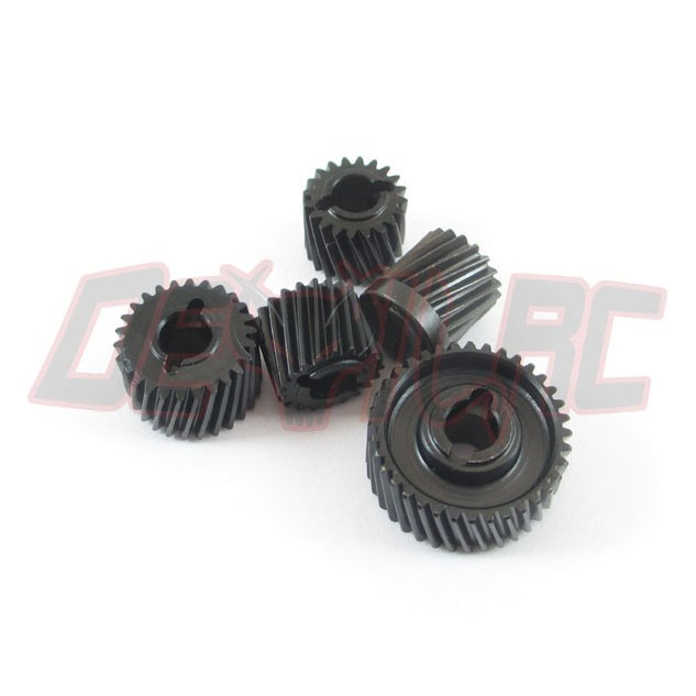Devil SCX10 II Heavy Duty Transmission and Transfer Case Gears V2