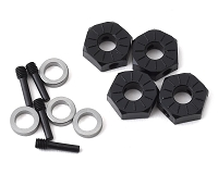 Axial 12mm Hex, Screw Shaft & Spacer (4)