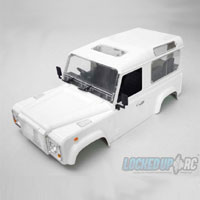 Xtra Speed Complete D90 Defender Hard Plastic Body Kit