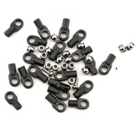 Traxxas Rod ends (16 long & 4 short)/ hollow ball connectors (18)/ ball screws (2)