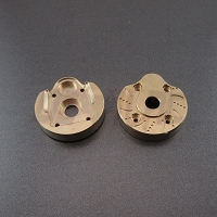 Capra & SCX10-III Brass Portal Covers - Middleweight