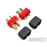 ProTek RC Sheathed T-Style Plug (2 Male)