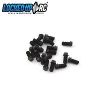 M3 x 6mm Scale Hex Bolts (20) Black