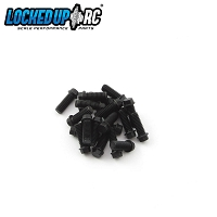 M3 x 8mm Scale Hex Bolts (20) Black