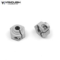 12mm Hex Clear Anodized