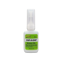 Zap-A-Gap CA+ Glue 1/2oz