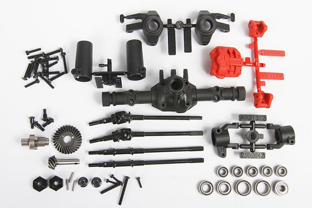 AR44 Locked Axle Set (Front or Rear) (Complete)