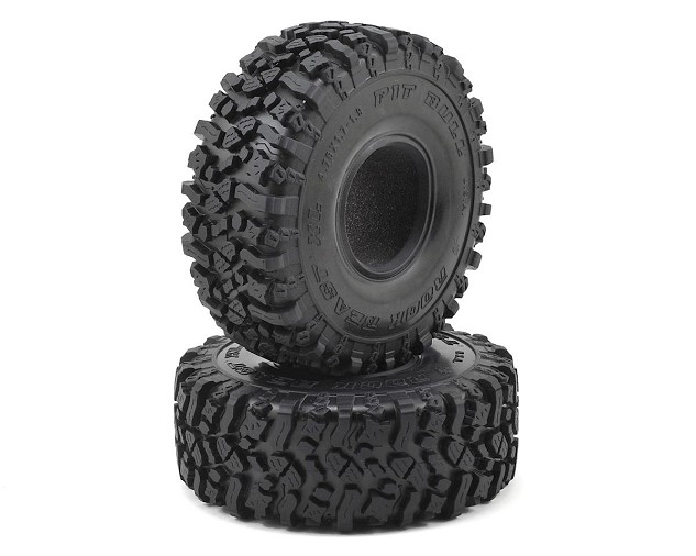 Pit Bull Tires 1.9' Rock Beast XL Scale Rock Crawler Tires w/Foams (2) (Alien)