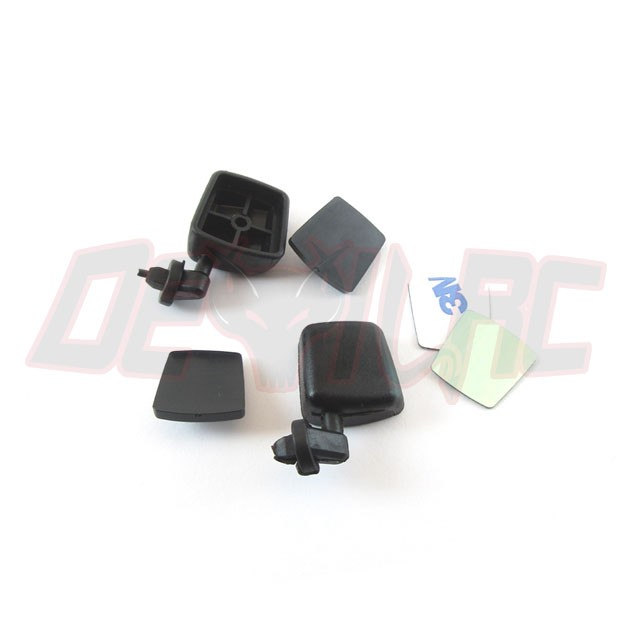Xtra Speed 1/10 Plastic Hardtop Scale Crawler Replacement Mirrors