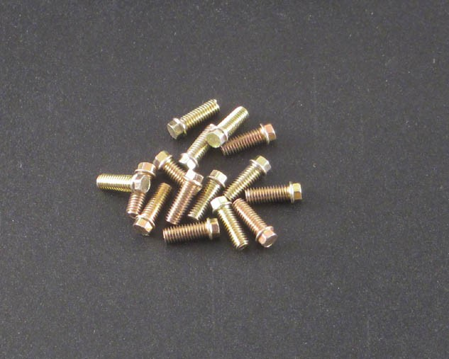 M3 x 8mm Scale Hex Bolts (15) MC Zinc